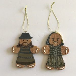 WWE Deleters Of Worlds 2018 Gingerbread Ornaments.